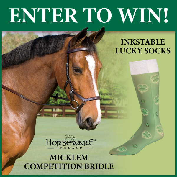 Dover Saddlery and Horseware Ireland contest giveaway st pattys day