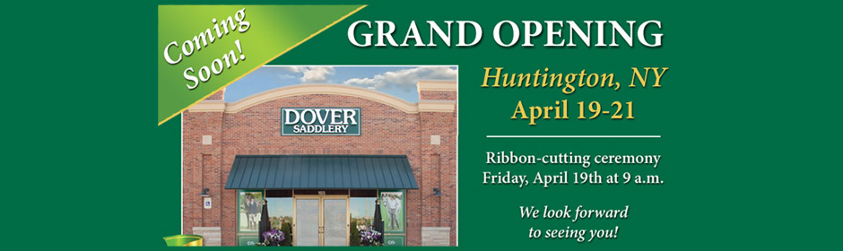 Dover Saddlery Grand Opening in Huntington NY
