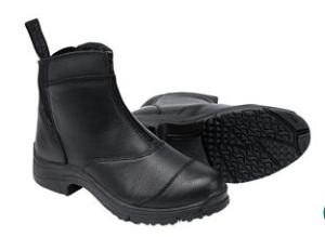 active winter zip paddock boot