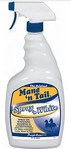 mane 'n tail spray 'n white