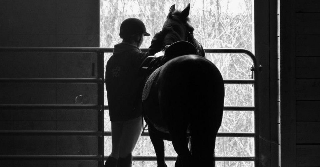 horseback riding pain