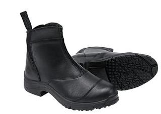 mountain horse winter zip paddock boot