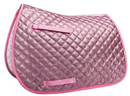 lettia sparkle saddle pad