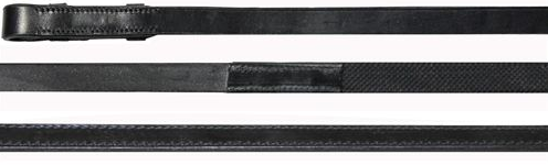 rubber lined reins