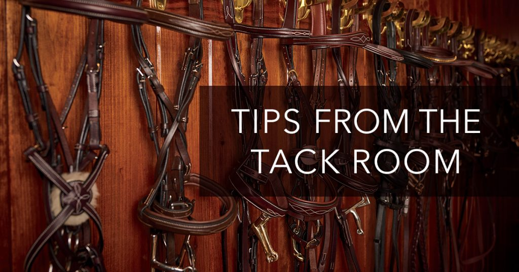 tips from tack room