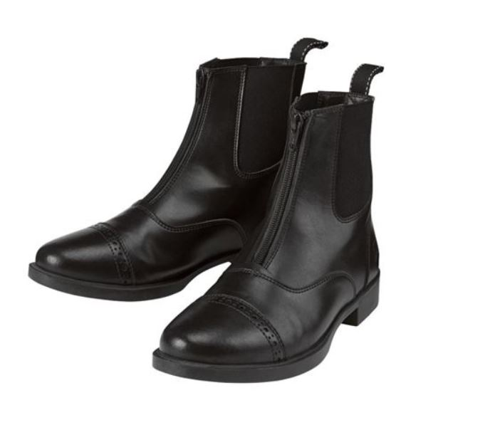 Riding Sport by Dover Saddlery Kids' Provenance Paddock Boots in black