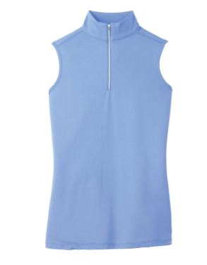 Dover Saddlery CoolBlast sleeveless top  made of lightweight fabric to keep you cool while riding this summer.