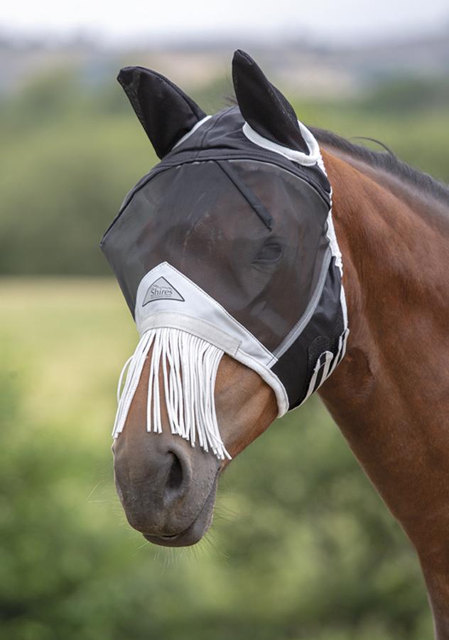 Fly Mask With Fringe